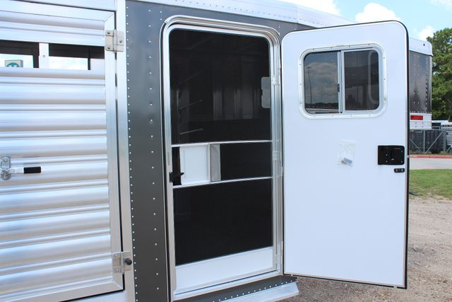 2019 Featherlite 8413 - STOCK/ COMBO 20' - Straight Wall Tack CONROE, TX 27