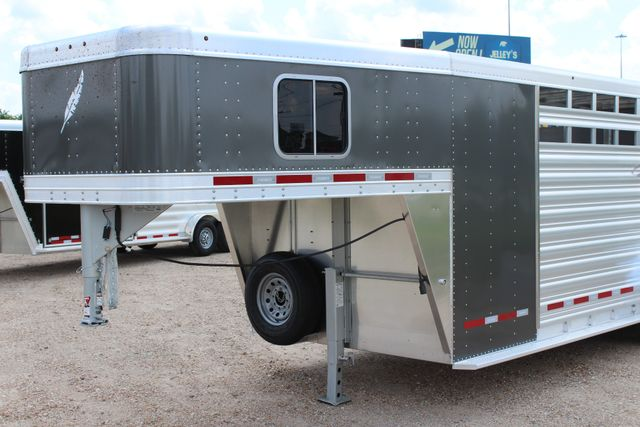 2019 Featherlite 8413 - STOCK/ COMBO 20' - Straight Wall Tack CONROE, TX 5