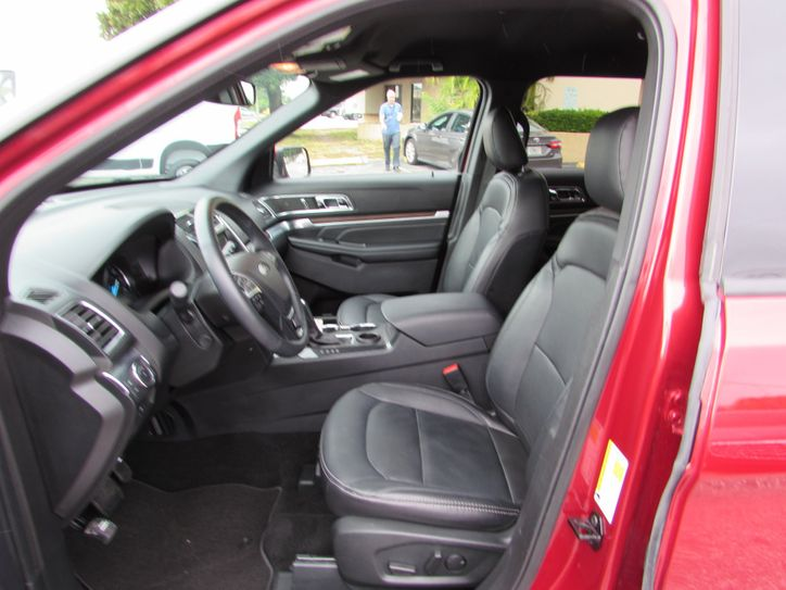 ford explorer limited leather interior