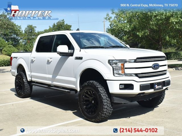 2019 Ford F-150 Lariat Sport Custom Lift, Wheels and Tires