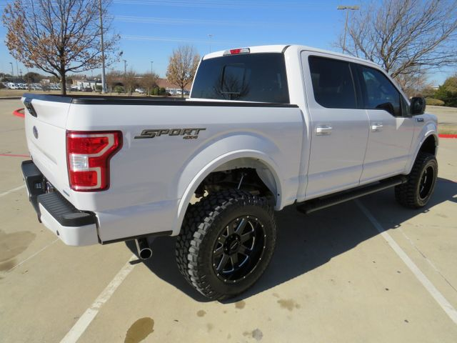 2019 Ford F-150 XLT Sport 4x4 New Lift, Wheels and Tires in McKinney, Texas 75070