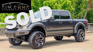 2019 Ford F-150 BLACK WIDOW  LEATHER SEATS PANO ROOF 6 INCH LIFT   Memphis, Tennessee   Tim Pomp - The Auto Broker in  Tennessee
