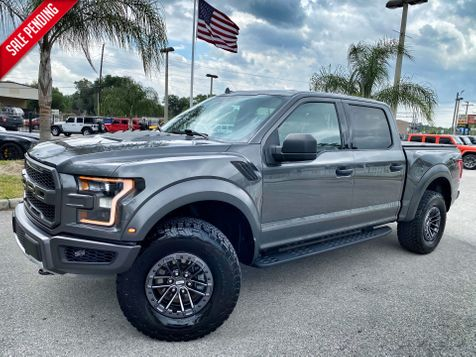 2019 Ford F-150 RAPTOR 4.10 GEARS NAV CREWCAB 4X4 CARFAX CERT in Plant City, Florida