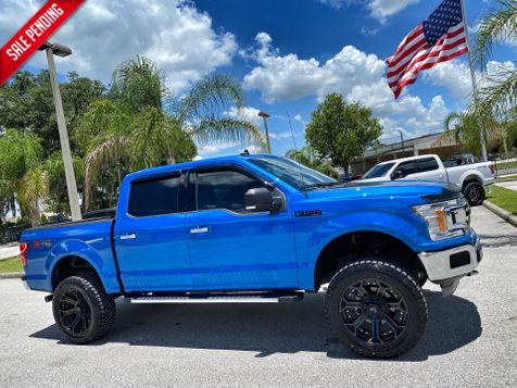 2019 Ford F-150 CUSTOM LIFTED LEATHER 4X4 ECOBOOST in Plant City, Florida