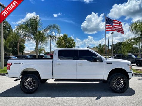 2019 Ford F-150 F-150 SPORT V8 4X4 CREW LIFTED LEATHER 22