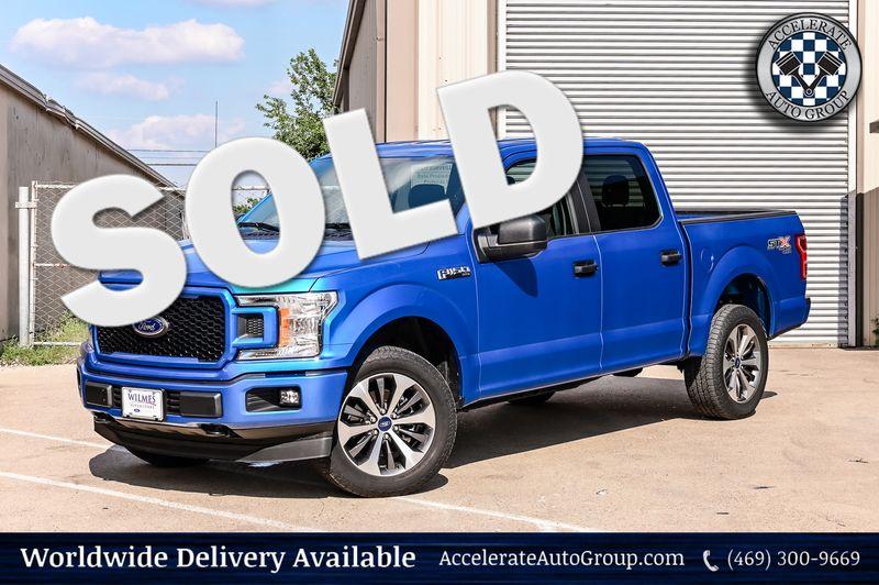 2019 Ford F-150 5.0L V8 XLT 4WD NAVIGATION BACK-UP CAMERA NICE! in Rowlett Texas