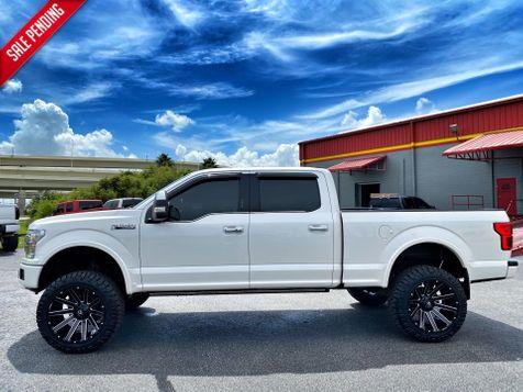 2019 Ford F-150 PLATINUM V6 ECOBOOST LIFTED PLATINUM CREW in Plant City, Florida