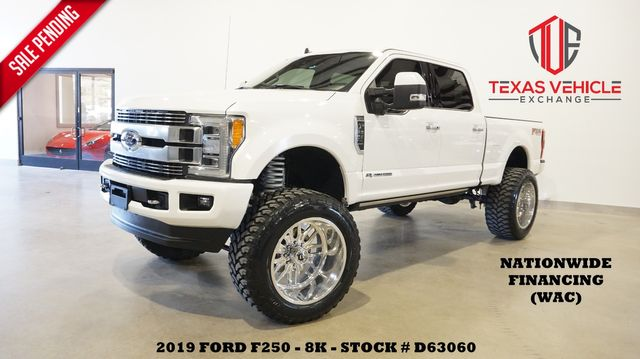 2019 Ford F-250 Limited 4X4 LIFTED,PANO ROOF,360 CAM,FUEL 24'S,8K