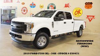 2019 Ford F-350 SRW XL 4X4 DIESEL,BACK-UP CAM,VINYL,34K,WE FINANCE in Carrollton, TX 75006