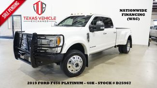 2019 Ford F-450 DRW Platinum 4X4 PANO ROOF,360 CAM,HTD/COOL LTH,40K in Carrollton, TX 75006