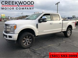 2019 Ford Super Duty F-250 Platinum 4x4 Diesel Leveled White Nav Pano 1 Owner in Searcy, AR 72143