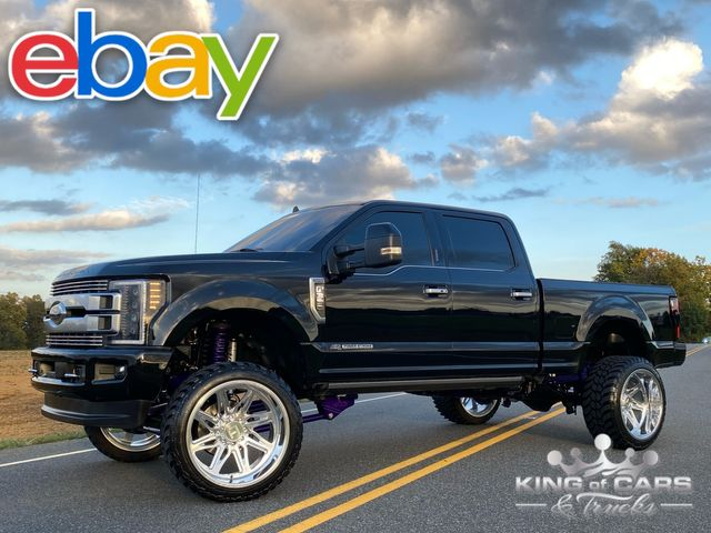 2019 Ford F350 Limited 4X4 PRO BUILT LIFT WHEELS AND TIRES