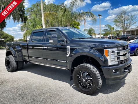 2019 Ford F350 LIMITED DUALLY DIESEL F350 LIMITED DUALLY DIESEL LIFTED FUEL TOYO in Plant City, Florida