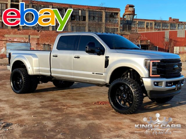 2019 Ford F350 Platinum 6.7l DIESEL 4X4 CREW DRW ONLY 29k MILES MUST SEE