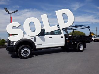 2019 Ford F450 Crew Cab 9' Flatbed 4x4 Diesel in Lancaster, PA PA