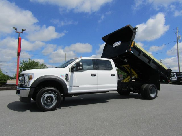 2019 Ford F450 Crew Cab 4x4 Diesel with New 11' Steel Dump