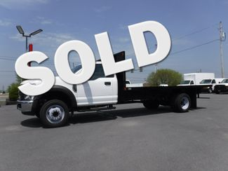 2019 Ford F550 16' Flatbed 2wd V10 Gas in Lancaster, PA PA