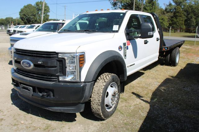 2019 Ford F550 SUPERDUTY XL CREW CAB 4X4 FLATBED