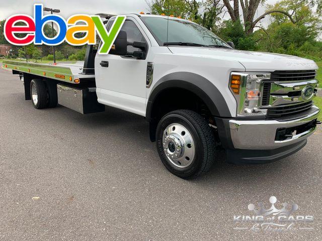 2019 Ford F550 Xlt 4x4 JERRDAN ROLLBACK LIKE NEW in Woodbury, New Jersey 08093