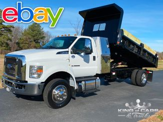 2019 Ford F650 6.7l Diesel PTO I-PACK MASON DUMP ONLY 2K MILES MINT in Woodbury, New Jersey 08093