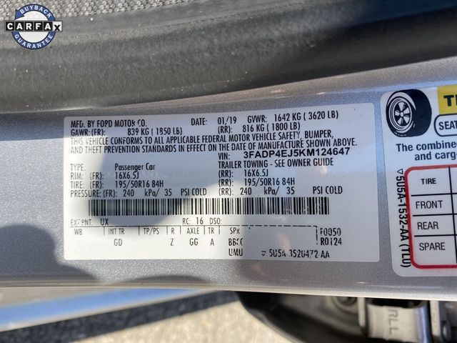 2019 Ford Fiesta SE Madison, NC 36