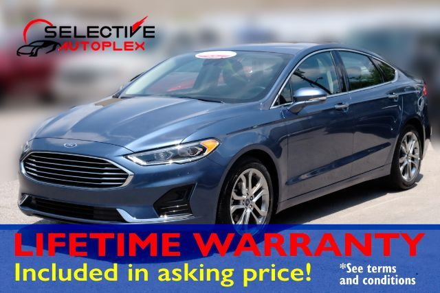 2019 Ford Fusion SEL, LEATHER SEATS, SUNROOF, BACKUP CAM, BLUETOOTH