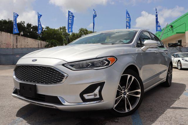 2019 Ford Fusion Titanium in Miami, FL 33142