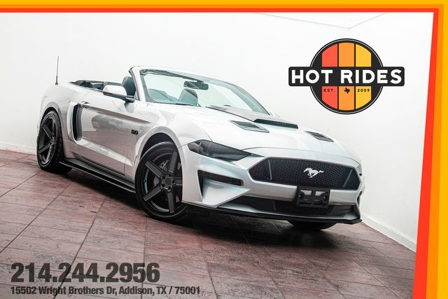2019 Ford Mustang GT Premium 5.0 Convertible With Upgrades
