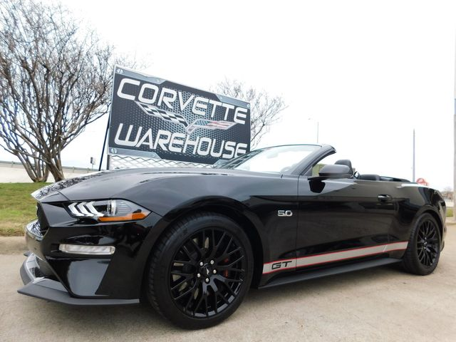 2019 Ford Mustang CONV GT Premium Plus, Exhaust, Sound Pkg 9k