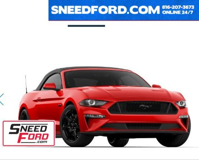 2019 Ford Mustang GT Premium California Special Convertible