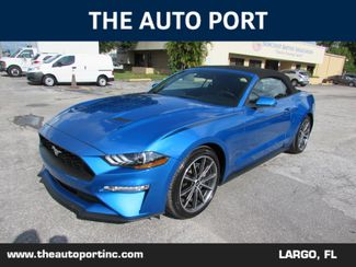 2019 Ford Mustang EcoBoost Premium W/NAVI in Largo, Florida 33773