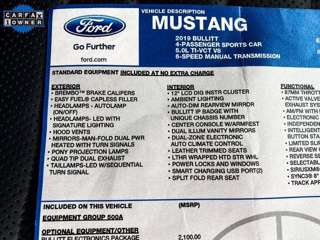2019 Ford Mustang Bullitt Madison, NC 15