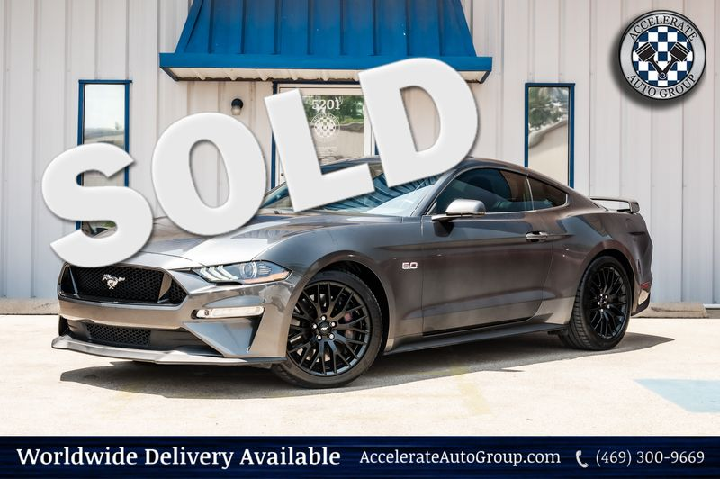 2019 Ford Mustang 5.0L V8 GT PERFORMANCE PKG, LEATHER, NAV,VERY NICE in Rowlett Texas