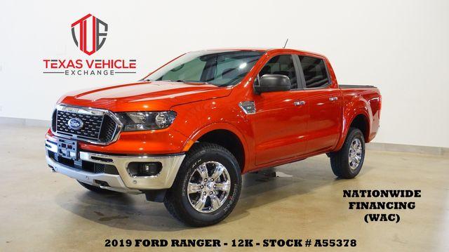 2019 Ford Ranger XLT 4X4 NAV,BACK-UP CAM,HTD CLOTH,CHROME WHLS,12K
