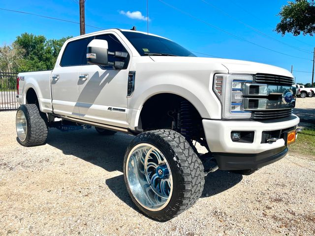 2019 Ford Super Duty F-250 Limited Crew Cab 4X4 6.7L Powerstroke Diesel Auto LIFTED