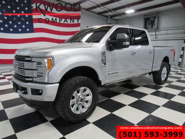2019 Ford Super Duty F-250 Platinum 4x4 Diesel Leveled New Tires Roof 1 Owner