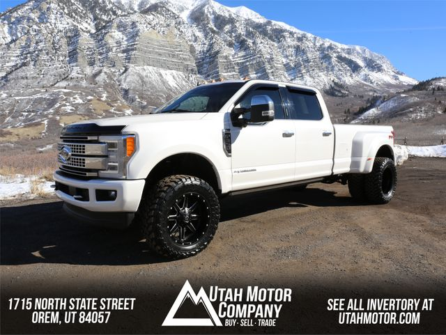2019 Ford Super Duty F-350 DRW Pickup Platinum in Orem, Utah 84057