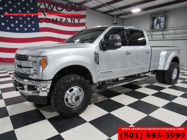 """2019 Ford Super Duty F-350 Lariat Diesel 4x4 Dually Leveled 37"""" Tires 1 Owner"""