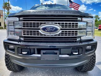2019 Ford Super Duty F-350 SRW Pickup PLATINUM LIFTED LOADED BLACKRED  Plant City Florida  Bayshore Automotive   in Plant City, Florida