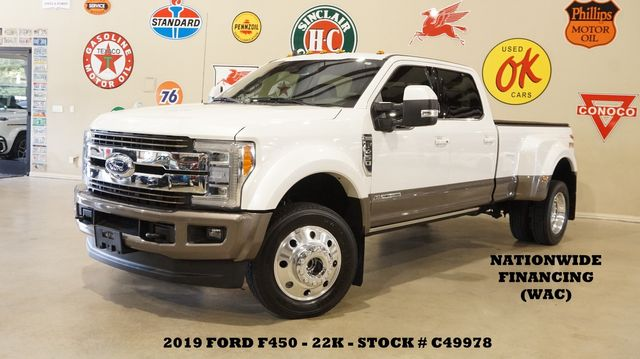 2019 Ford F-450 DRW King Ranch 4X4 MSRP 82K,PANO ROOF,360 CAM,22K