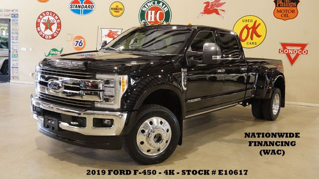 2019 Ford F-450 DRW King Ranch 4X4 PANO ROOF,360 CAM,4K,WE FINANCE