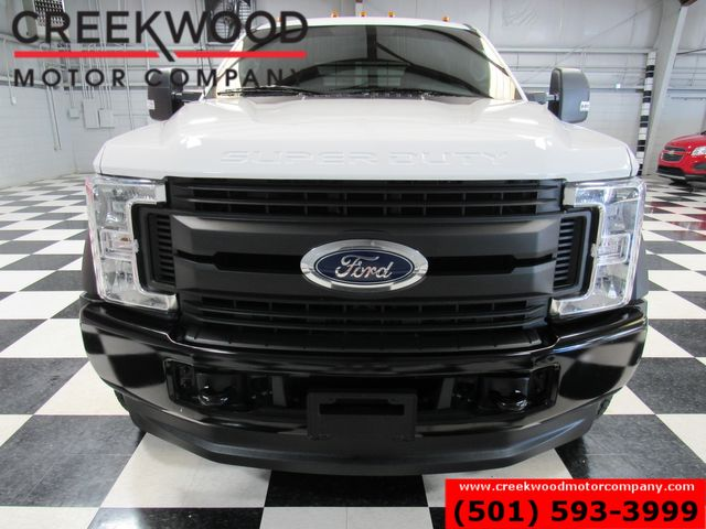 2019 Ford Super Duty F-450 XLT 4x4 Diesel Dually Flatbed 1 Owner White NICE in Searcy, AR 72143