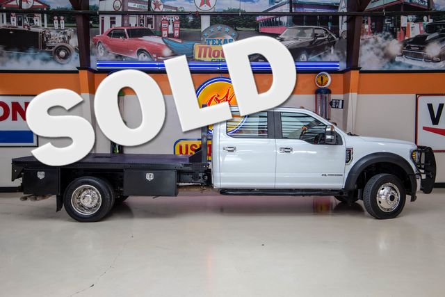 2019 Ford Super Duty F-550 DRW Chassis Cab XL 4x4