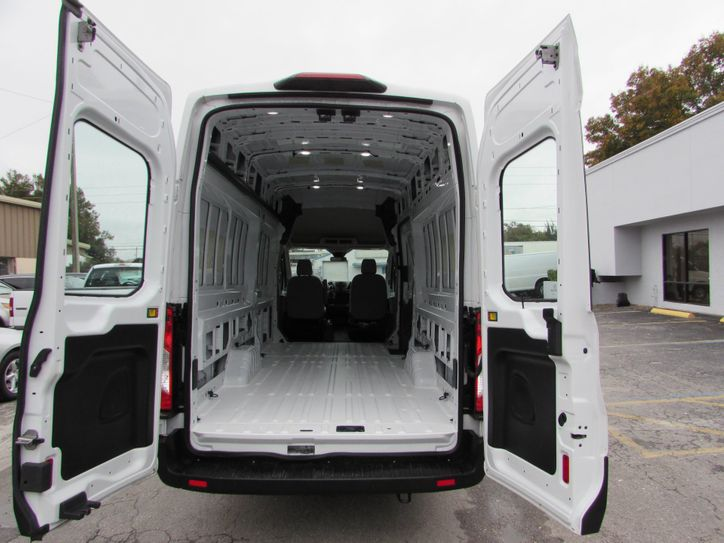 Ford transit extended high rood interior