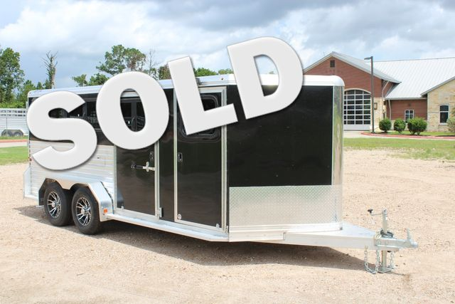 2019 Frontier Low Pro Pen 16' Pen Trailer with Dressing Room CONROE, TX