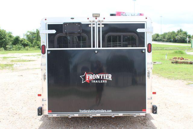 2019 Frontier Low Pro Pen 6 - Pen Trailer with Dressing Room CONROE, TX 18