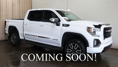 2019 GMC Sierra 1500 AT4 Crew Cab 4x4 w/NAV, HD 360º Camera, Heated/Cooled Seats & 20