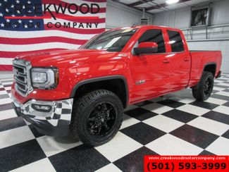 2019 GMC Sierra 1500 SLE 4x4 Red 1 Owner Low Miles New Tires Black 20s in Searcy, AR 72143