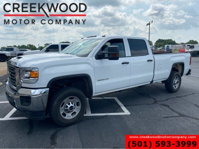 2019 GMC Sierra 2500HD 4x4 Diesel Work Truck Long Bed White Leather NICE