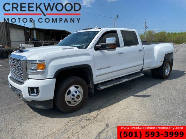 2019 GMC Sierra 3500HD Denali 4x4 Duramax Diesel 1 Owner Dually White